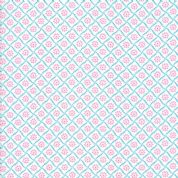 Moda - Good Day  - 6799 - Picnic Petals Floral in Pink & Blue - 22377 21 - Cotton Fabric